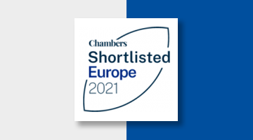 Koutalidis Law Firm Chambers Shortlisted Europe 2021