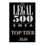 Koutalidis Law Firm Legal 500 EMEA Top Tier 2020