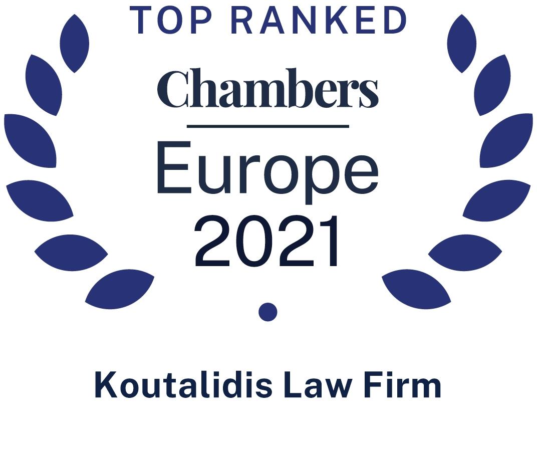 CHAMBERS TOP RANKED EUROOPE 2021