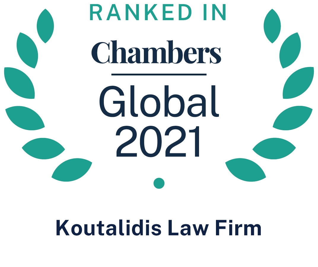 CHAMBERS GLOBA 2021 TOP TIER FIRM