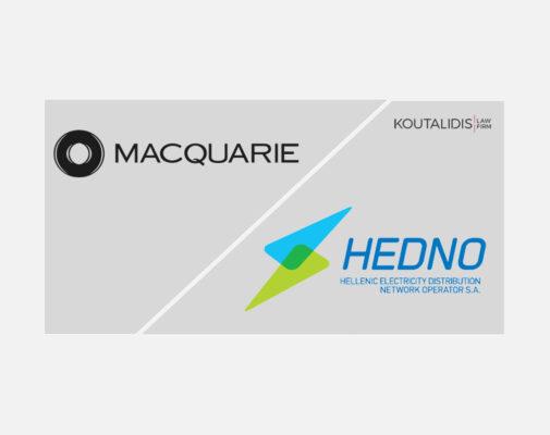 HENDO-MACQUARIE € 2.116 bn acquisition