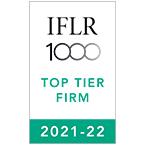 IFLR 1000 TOP TIER FIRM 2021-2022