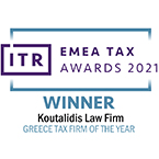 ITR AWARDS 2021 WINNER TAX FIRM OF THE YEAR